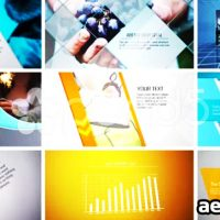 PROMOTIONAL CORPORATE PROJECT – AFTER EFFECTS TEMPLATE (POND5)