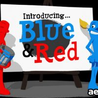 PAINT PROMO FEATURING BLUE & RED (VIDEOHIVE)