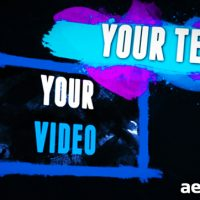 PAINT SPLATTERS – AFTER EFFECTS PROJECT (VIDEOHIVE)
