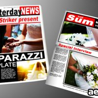 PAPARAZZI TABLOID NEWSPAPER – AFTER EFFECTS PROJECT (VIDEOHIVE)