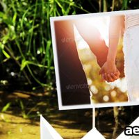 PAPER BOATS PHOTO GALLERY – AFTER EFFECTS PROJECT (VIDEOHIVE)