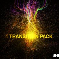 PARTICULES TRANSITIONS PACK – AFTER EFFECTS PROJECT (VIDEOHIVE)