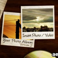 PHOTO ALBUM V.2 – PROJECT FOR AFTER EFFECTS (VIDEOHIVE)