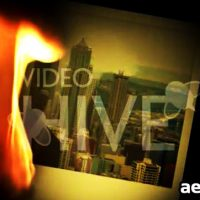 PHOTO CLICKS V2 FIRE – AFTER EFFECTS PROJECT (VIDEOHIVE)