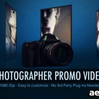 PHOTOGRAPHER PROMO VIDEO – AFTER EFFECTS PROJECT (VIDEOHIVE)