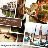 PHOTOS OF MY LIFE – AFTER EFFECTS PROJECT (VIDEOHIVE)