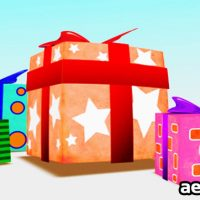 PRESENT BOX BIRTHDAY – AFTER EFFECTS PROJECT (VIDEOHIVE)