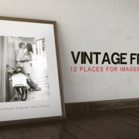 VINTAGE FRAME GALLERY – PROJECT FOR AFTER EFFECTS (VIDEOHIVE)