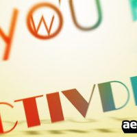 VIDEOHIVE RETRO STYLE AFTER EFFECTS PROJECT