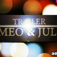 R&J TRAILER – AFTER EFFECTS PROJECT (VIDEOHIVE)