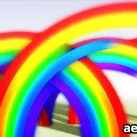 RAINBOW REVEAL – AFTER EFFECTS PROJECT (VIDEOHIVE)