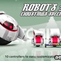 ROBOTS 3D CHRISTMAS SPECIAL II – AFTER EFFECTS PROJECT (VIDEOHIVE)