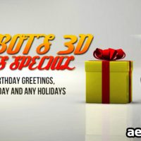 ROBOTS 3D GIFTS SPECIAL – AFTER EFFECTS PROJECT (VIDEOHIVE)