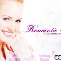 ROMANTIC INTRO – PROJECT FOR AFTER EFFECTS (VIDEOHIVE)