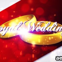 ROYAL WEDDING 3 – AFTER EFFECTS PROJECT (VIDEOHIVE)