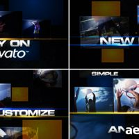 SQUARES PACK – AFTER EFFECTS PROJECT (VIDEOHIVE)