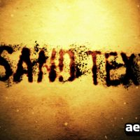 SAND TEXT – AFTER EFFECTS PROJECT (VIDEOHIVE)