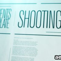 SHOOTING MAG – AFTER EFFECTS PROJECT (VIDEOHIVE)