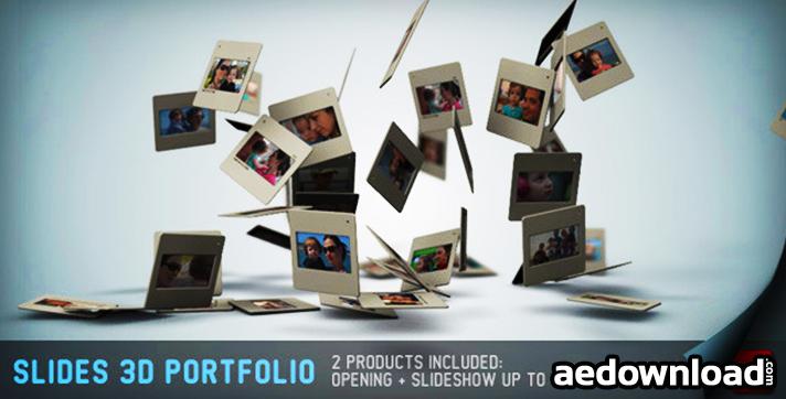 Slides 3D - Portfolio And Opening