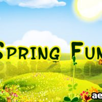 SPRING FUN – PROJECT FOR AFTER EFFECTS (VIDEOHIVE)