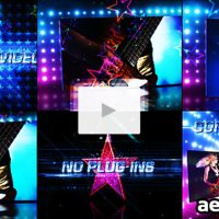 STAR DANCES PROMO – AFTER EFFECTS PROJECT (VIDEOHIVE)