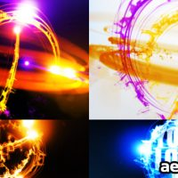 STREAKS LOGO REVEAL II – AFTER EFFECTS PROJECT (VIDEOHIVE)