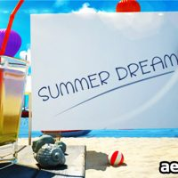 SUMMER DREAM VACATION – PROJECT FOR AFTER EFFECTS (VIDEOHIVE)