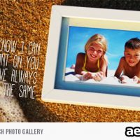 SUMMER SUNSET ON BEACH PHOTO GALLERY (VIDEOHIVE)