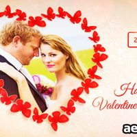 SWEET BUTTERFLIES VALENTINE'S DAY CARD – VIDEOHIVE