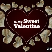 SWEET VALENTINE – AFTER EFFECTS PROJECT (VIDEOHIVE)