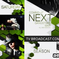 TV BROADCAST COMPLETE PACKAGE – PROJECT FOR AFTER EFFECTS (VIDEOHIVE)