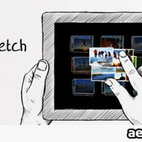 TABLET SKETCH – AFTER EFFECTS PROJECT (VIDEOHIVE)