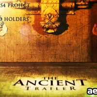 THE ANCIENT TRAILER – AFTER EFFECTS PROJECT (VIDEOHIVE)