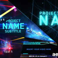 THE FUTURE – AFTER EFFECTS PROJECT (VIDEOHIVE)