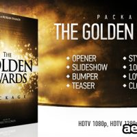 THE GOLDEN AWARDS PACKAGE – PROJECT FOR AFTER EFFECTS (VIDEOHIVE)