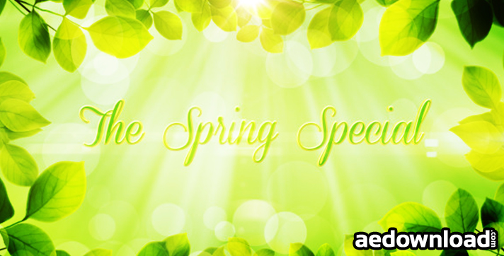 The Spring Special - Promo Pack