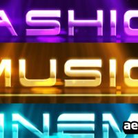 THREE LOGO REVEALS – AFTER EFFECTS PROJECT (VIDEOHIVE)