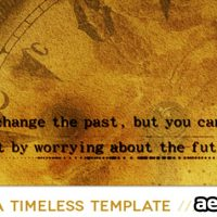 TIME – AFTER EFFECTS PROJECT (VIDEOHIVE)