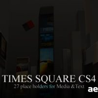 TIMES SQUARE CS4 – AFTER EFFECTS PROJECT (VIDEOHIVE)