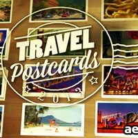 TRAVEL POSTCARDS – PROJECT FOR AFTER EFFECTS (VIDEOHIVE)