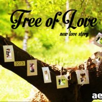 TREE OF LOVE – AFTER EFFECTS PROJECT (VIDEOHIVE)