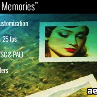 UNDERWATER MEMORIES SLIDESHOW – AFTER EFFECTS PROJECT (VIDEOHIVE)