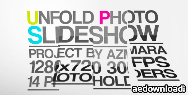 Unfold Photo Slideshow