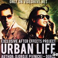 URBAN LIFE – PROJECT FOR AFTER EFFECTS (VIDEOHIVE)