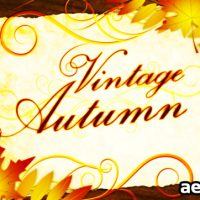 VINTAGE AUTUMN – PROJECT FOR AFTER EFFECTS (VIDEOHIVE)