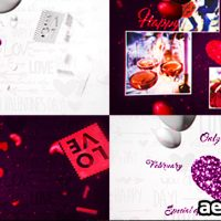 VALENTINE'S DAY LOGO 3IN1 – VIDEOHIVE