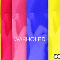 WARHOLED – PROJECT FOR AFTER EFFECTS (VIDEOHIVE)