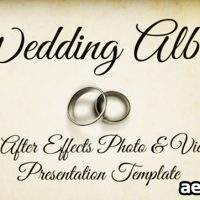 WEDDING ALBUM 3522819 – PROJECT FOR AFTER EFFECTS (VIDEOHIVE)