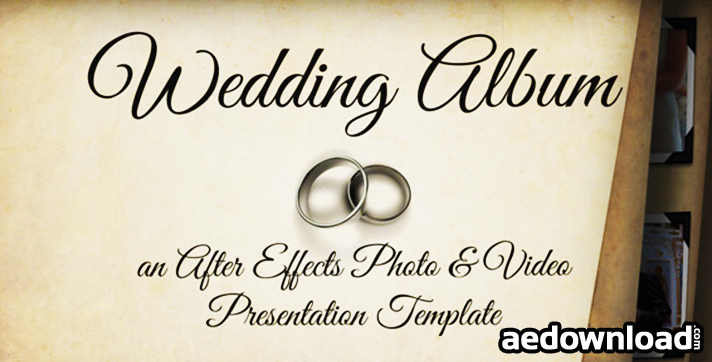 WEDDING ALBUM 3522819 - PROJECT FOR AFTER EFFECTS (VIDEOHIVE ...