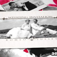 WEDDING INVITATION – AFTER EFFECTS PROJECT (VIDEOHIVE)